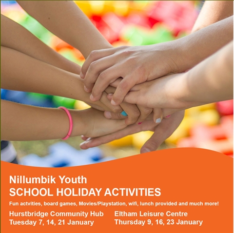 Nillumbik Youth School Holidays Activities