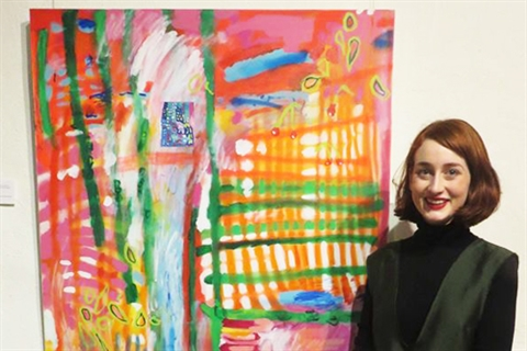 Minna Gilligan wins Nillumbik Prize